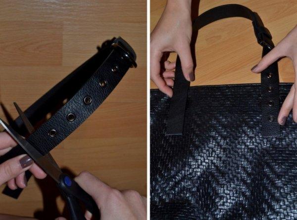 Как отреставрировать ручки на сумке