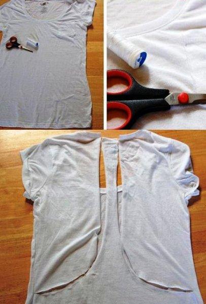 Сделать футболку в домашних условиях 667