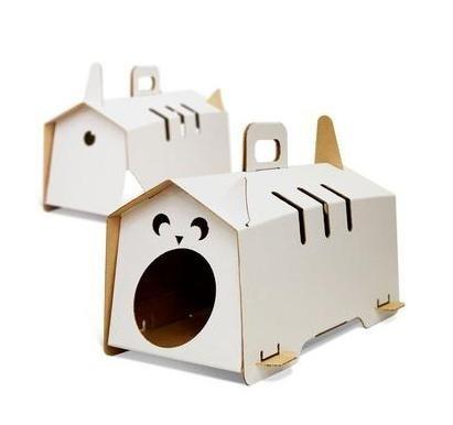 Как сделать домик для кошки своими руками из картона поэтапно - Benefist.ru