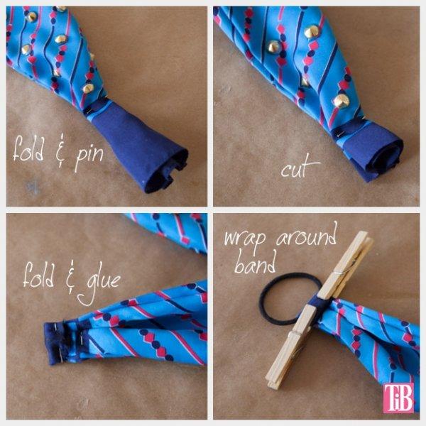 Как из платка сделать повязку на руку