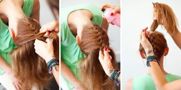 Бант из волос своими руками Красота и здоровье. Журнал Guru.ua