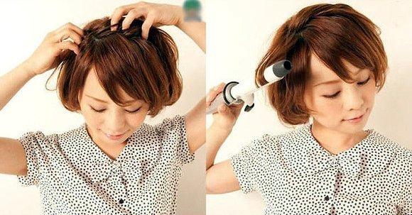 Прически на короткие волосы повседневные